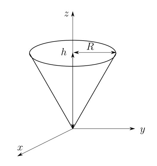 体積 円錐 の 【中1数学】円柱・円すいの体積の求め方がサクッとわかる