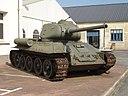 A T-34-85 in the au musée des blindés de Saumur.